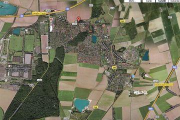 Steterburg 1900 Landkarte